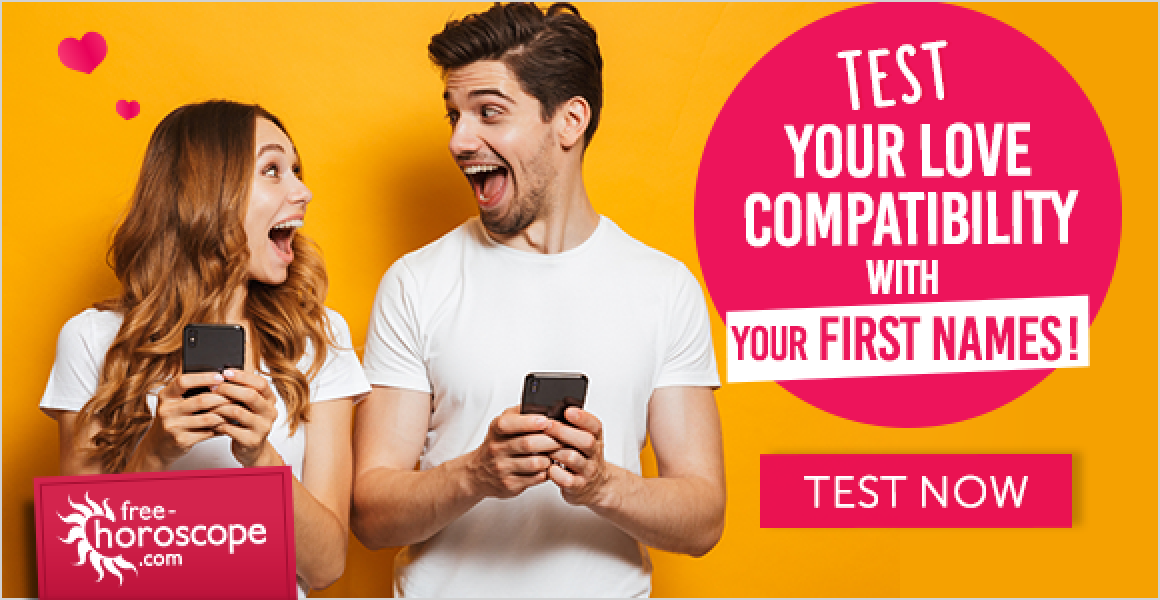 First name love compatibility test