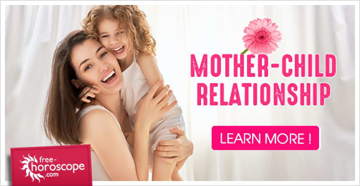 Mother-child relationship: horoscope for a parent-child
