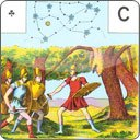 The 6 cards of the Conquest of the Golden Fleece in detail