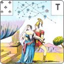 The nine cards of the Trojan War in Mademoiselle Lenormand\'s Tarot