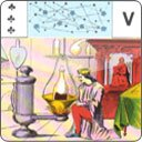 Eight cards of the Great Work in Mademoiselle Lenormand\'s Tarot