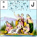 The nineteen Unforeseen Even cards in Mademoiselle Lenormand\'s Tarot